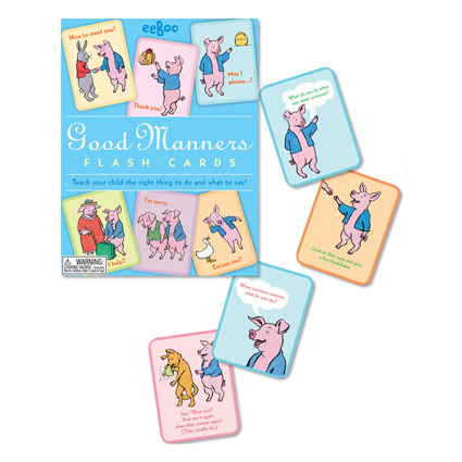 Good Manners Flashcards-1